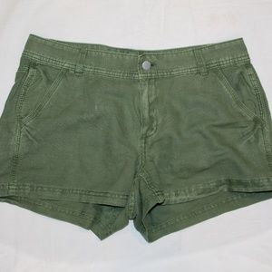 J Crew Linen Cotton Shorts